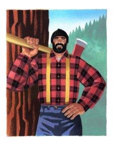 lumberjack-tree